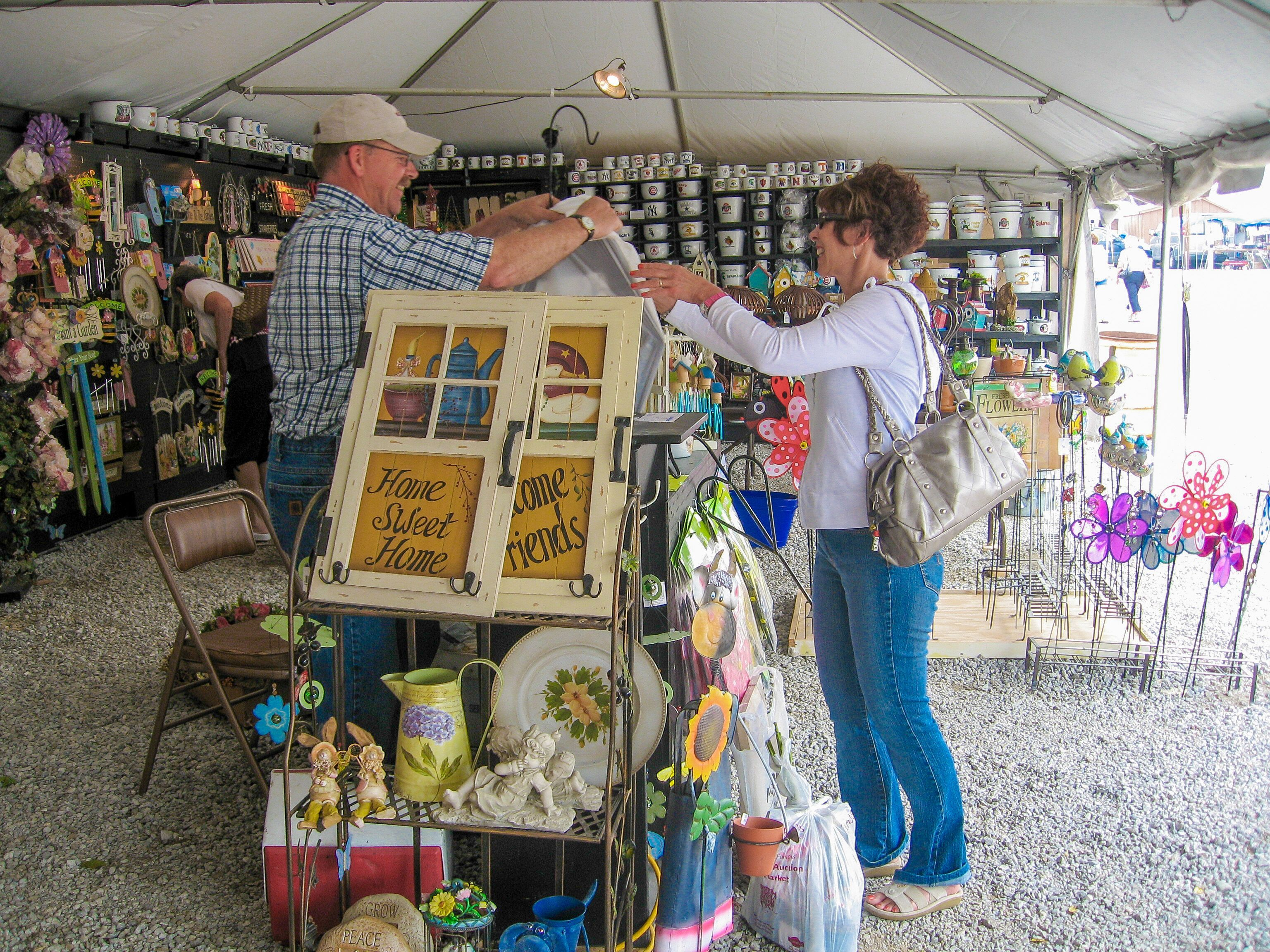 Flea Markets In The Amish Country