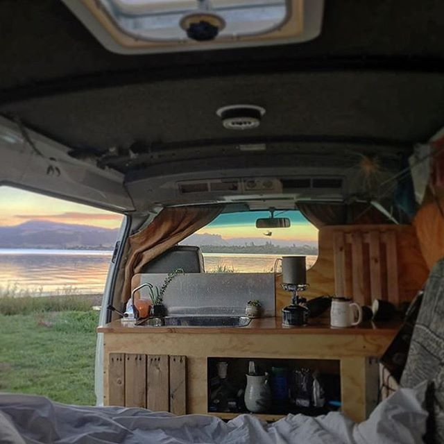 Vw T4 T5 T6 Camper Van Stainless Swivel Table By Vamoose Without
