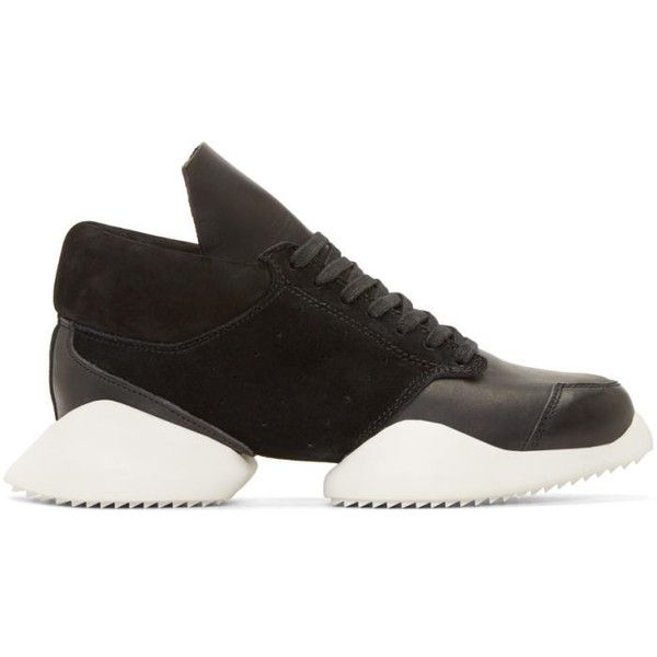 best service 5f81b 28092 Rick Owens Black and White Island Sole adidas by Rick Owens Sneakers ( 470)  ❤