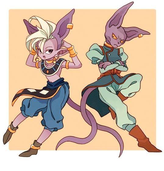 Supreme Kai And Beerus