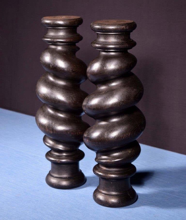 Best 17 Large Antique Spiral Turned Barley Twist Posts 400 x 300