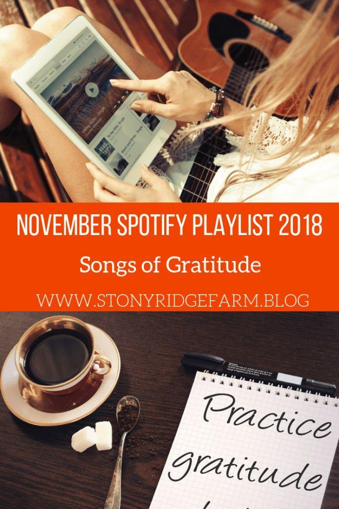 November Spotify Playlist 2018 Spotify playlist