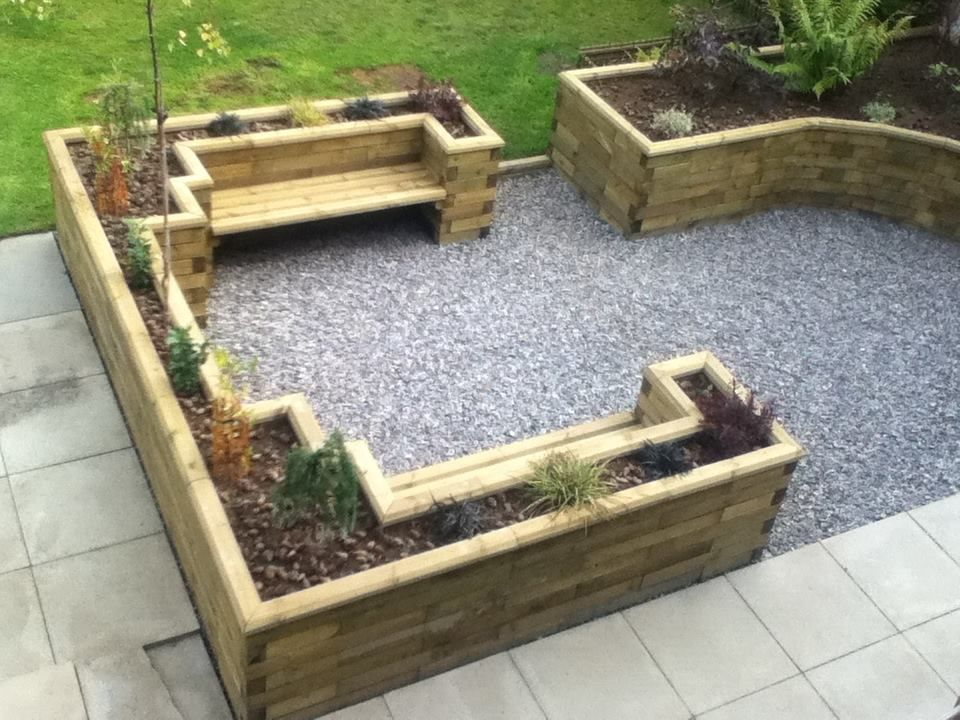 Fence, Grey and Topiaries on Pinterest