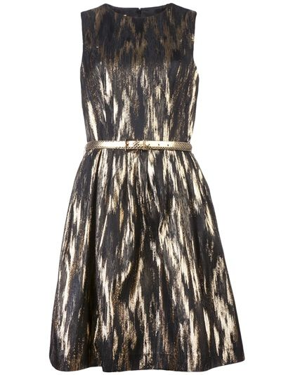 1dfc42aae68c0d Michael Kors Sleeveless Metallic Dress - Gus Mayer Nashville - farfetch.com  #gelatokisses