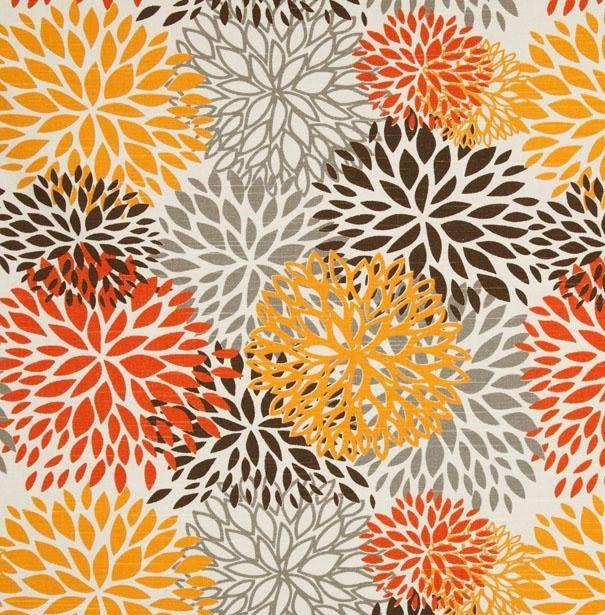 Drapes Curtains Premier Prints Blooms Collection