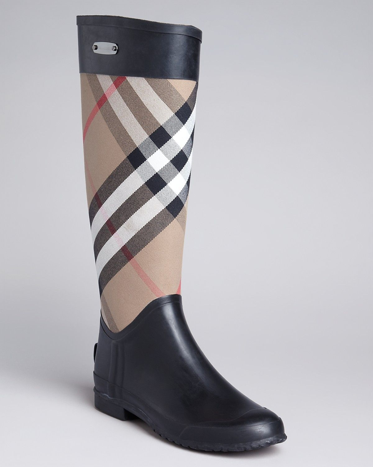Burberry Rain Boots - Clemence Check | Bloomingdales | Yes, please ...