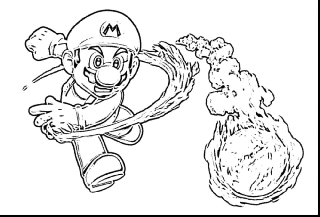 Super Mario Coloring Pages New Stunning Galaxy With And