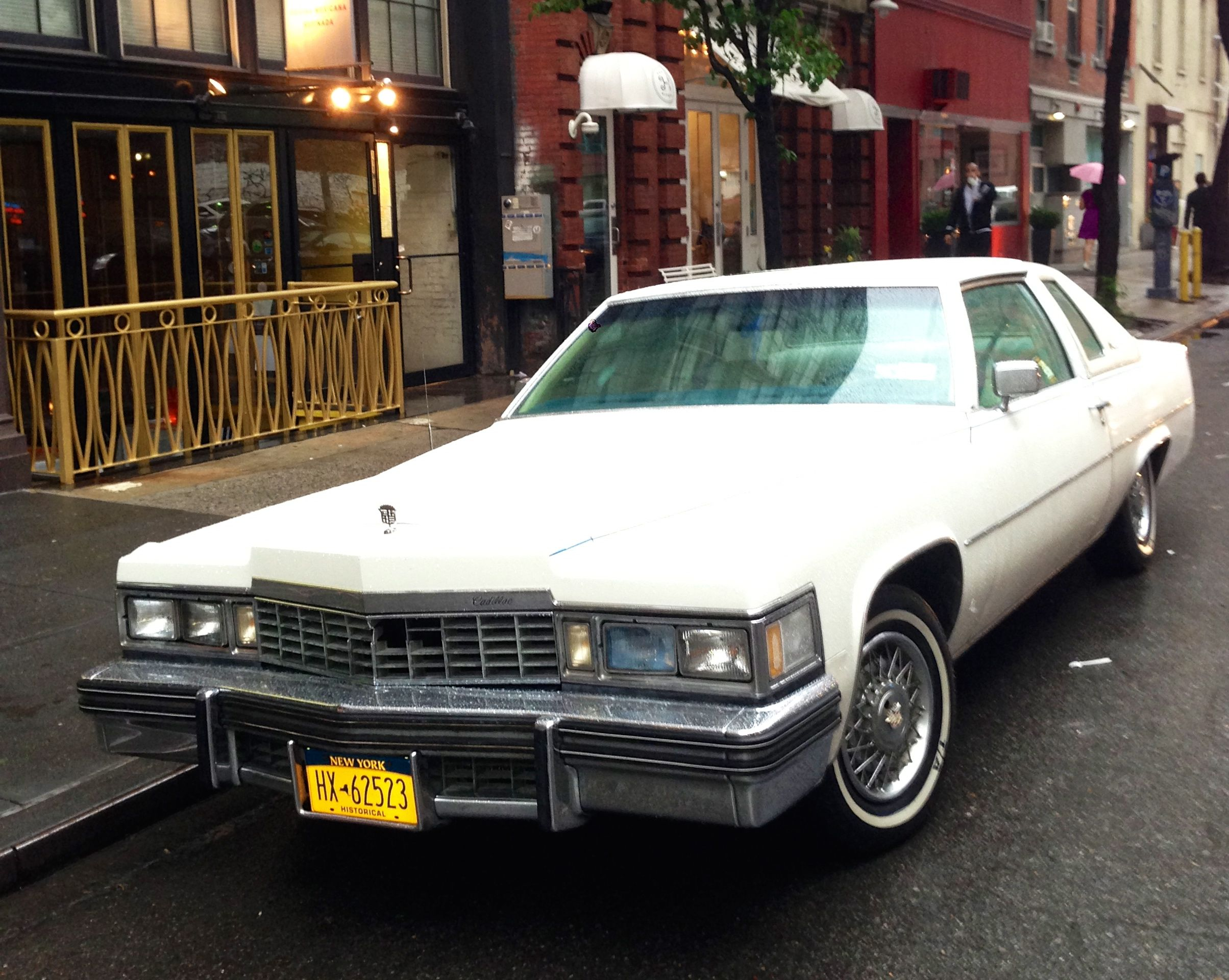 1977 Cadillac Coupe de Ville | Found on the Streets of New York City