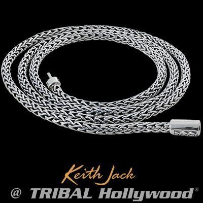 Unbroken Faith Celtic Knots Silver Mens Chain By Keith Jack