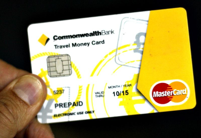 Travel Card Commonwealth Pin