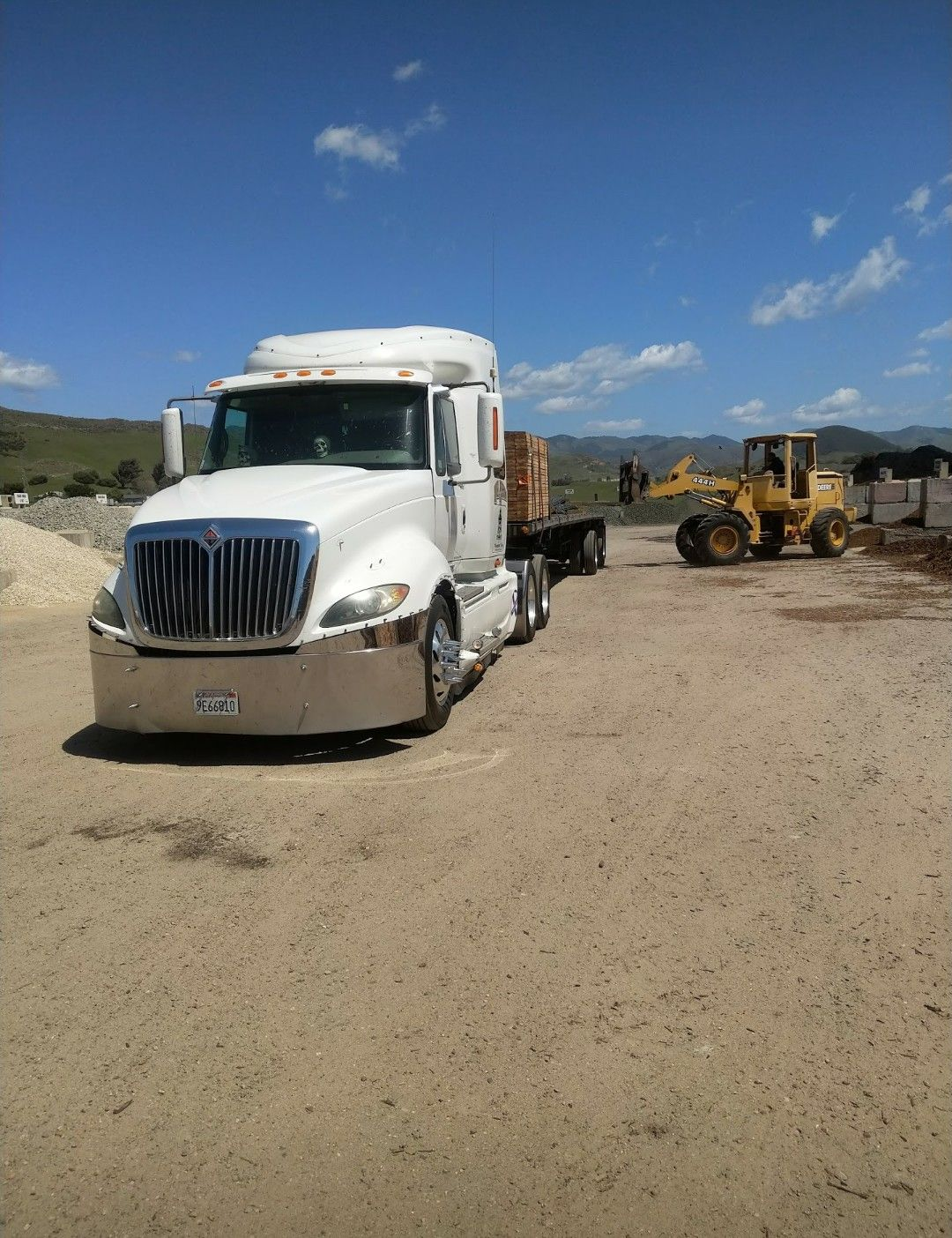 Pin By Damain Greene On Big John International Truck Big Trucks Trucks