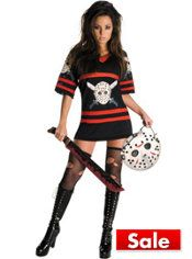 Adult Miss Voorhees Costume Deluxe - Friday the 13th