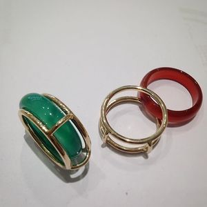 #Ring #gold #585 #wechselringe #carneol #achat #handarbeit #goldschmidt #MadeInGermany mehr Farben für den Winter!