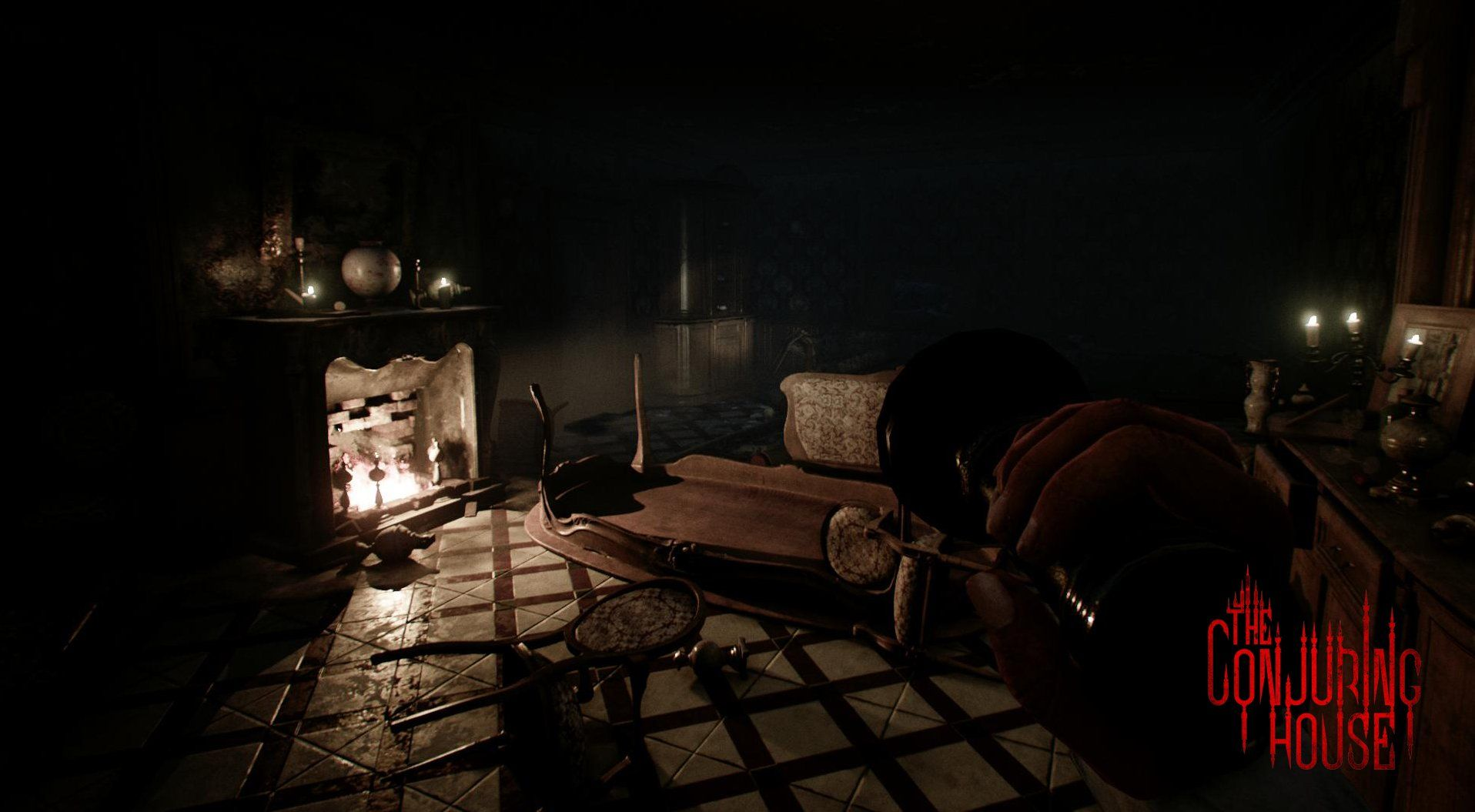 Captivating The Conjuring House   Survival Horror (PC, PS4) #TheConjuringHouse #Terrror  #SurvivalHorror