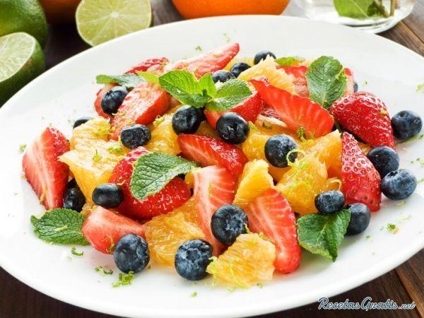 Ensalada de frutas para #Diabéticos #LaboratoriosEudermic