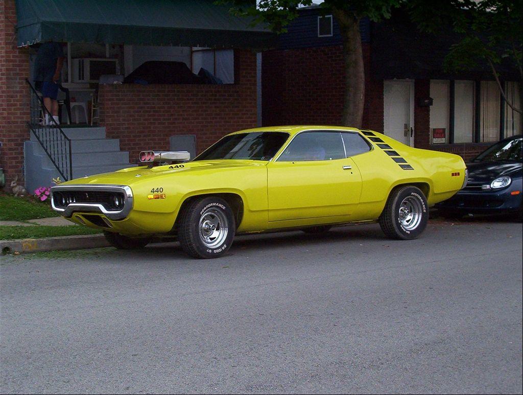'71 Roadrunner Plymouth roadrunner, Old american cars