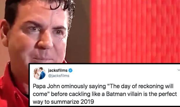 Papa John S Founder Gets Fire Roasted On Twitter Papa Johns Freebies By Mail Papa