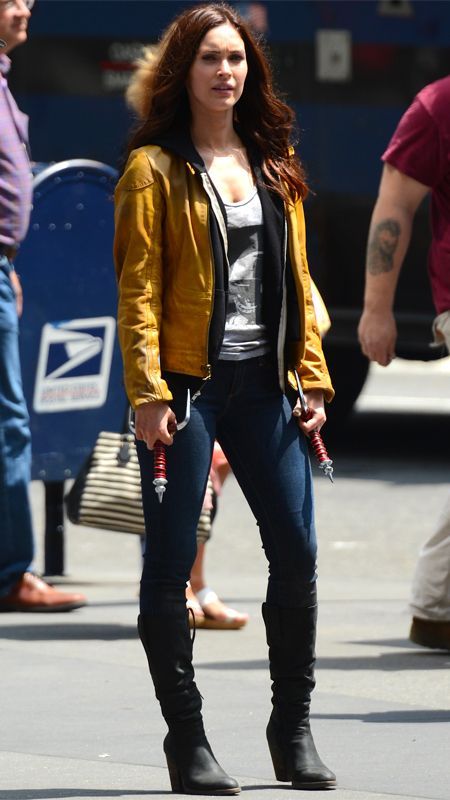 Comic-Con 2014: Badass Women in Sci-Fi History - April O'Neil from #InStyle