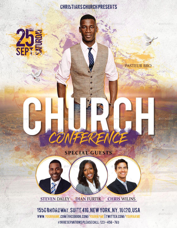 Church Flyer Church media design, Church poster design