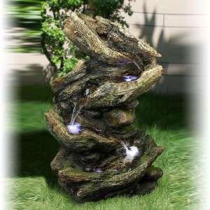 Xl maxi fontaine d 39 interieur 1m10 luxe 540 cascade avec clairage int gr plus vrai que for Fontaine de jardin nature et decouverte