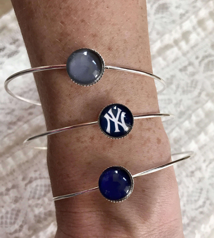 New york yankees bracelet bangle set bangle set bangle and bracelets