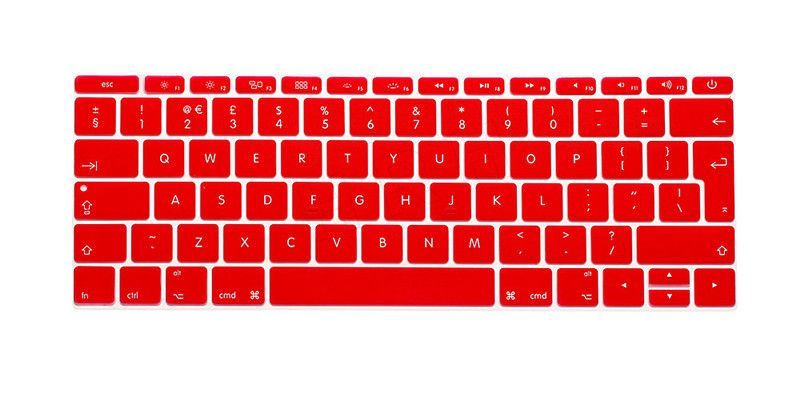 """Arabic Silicone Keyboard Cover Skin For Mac Pro 13/"""" A1708 No touch bar 12/"""" A1534"""