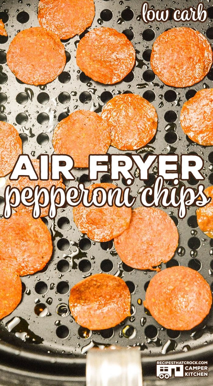 You can make Air Fryer Pepperoni Chips in a matter of minutes. These crisps…