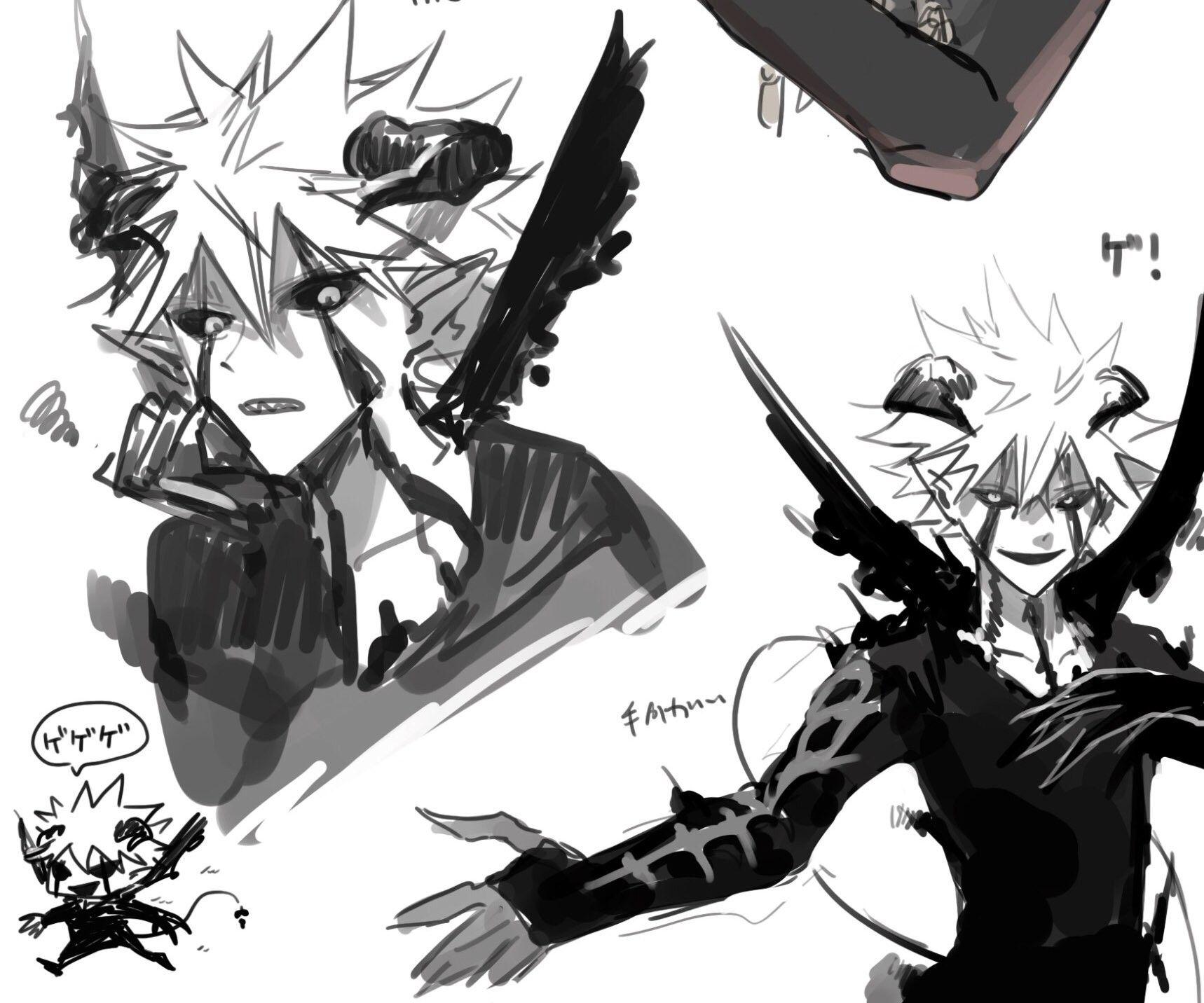 Asta Demon Black Clover In 2020 Black Clover Anime Black Clover Manga Anime