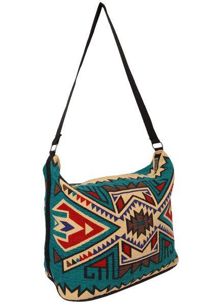 Cotton Stencil Purse- Southwest Design   Western purses ...