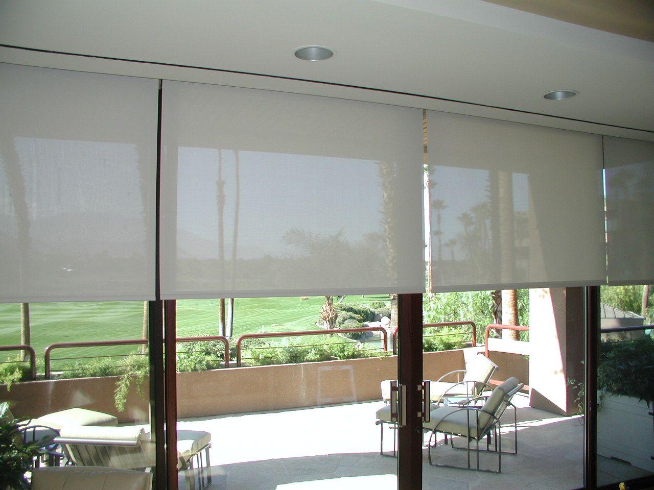 Top Roll Up Shades For Your Home Patio Door Shades Patio Door