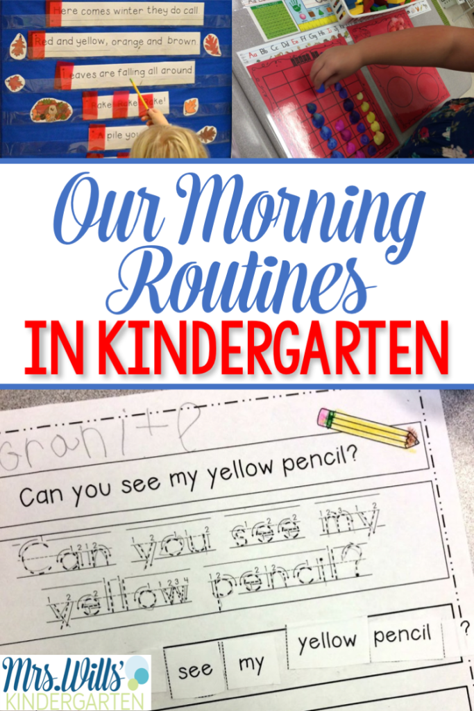 Collaborative Classroom Procedures ~ Need some morning routine ideas here are a few of my