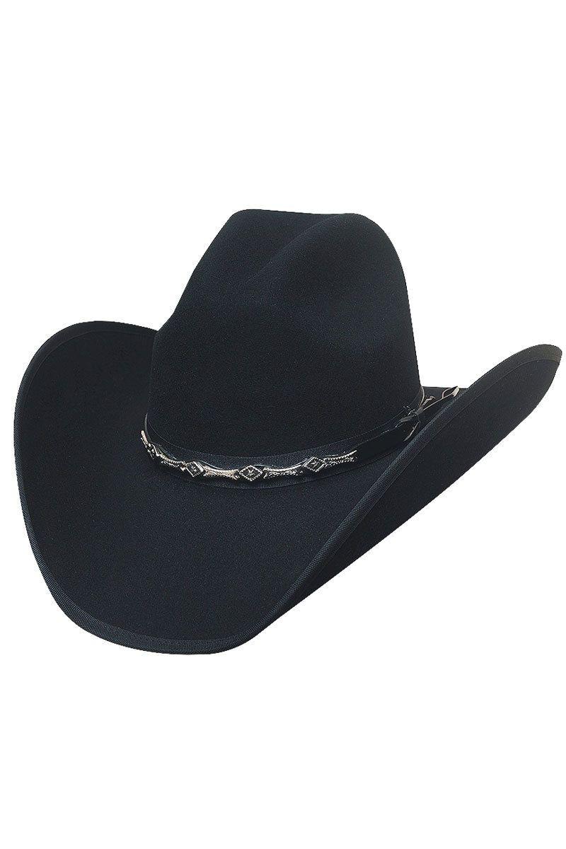 ed0dce4544894 Bullhide Big Shot 8X Black Fur Cowboy Hat