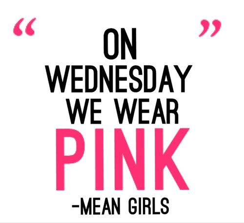 Happy 10 years! Wear pink today