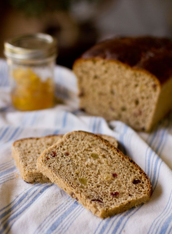 Fruit and Nut Yeast Bread   Recipe   No yeast bread, Sweet ...