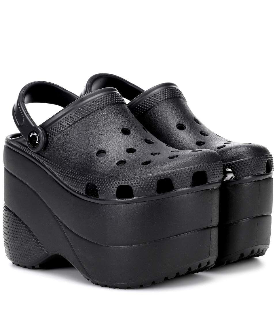 Balenciaga - Platform crocs | mytheresa