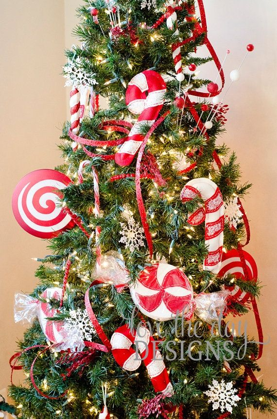 Candy Cane Decorations Pinterest Pinterest Decorations For Christmas Peppermints  Peppermint Candy