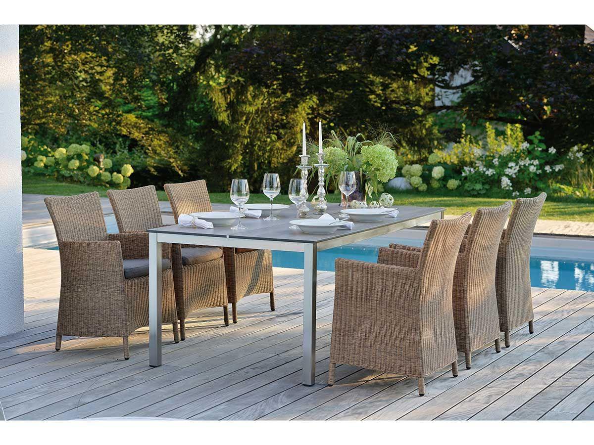 Stern Edelst Silverstar Tundra Braun 250x100 Cm Kaufen Im Borono Online Shop Gartenmobel Sets Gartensessel Aussenmobel