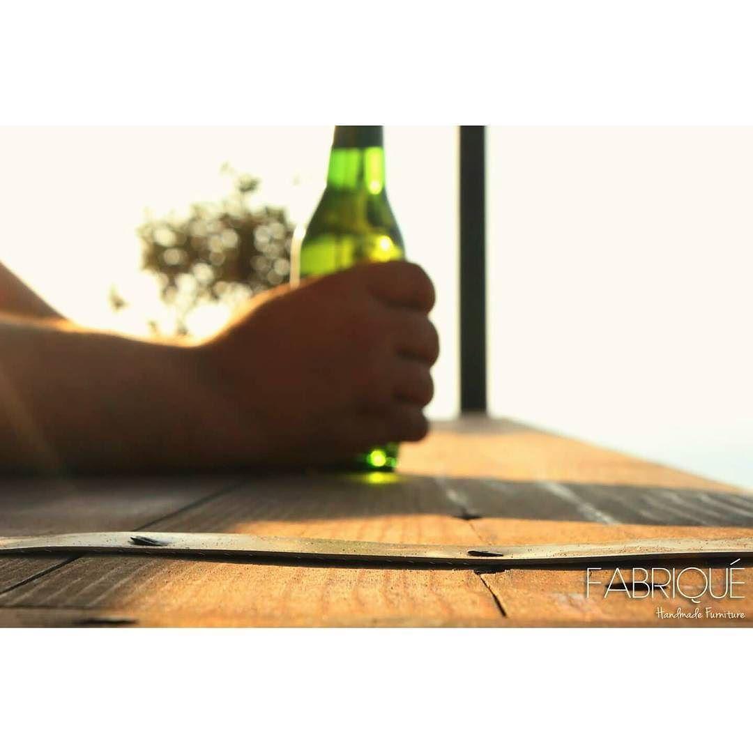 Beautiful sunny afternoon over here! Cheers  #fabriquehandmadefurniture #handmadefurniture #handmade #furniture #woodenfurniture #wood #dowoodworking #all_the_good_wood #diy #recycledfurniture #reclaimedwood #ecofurniture #architecture #architect #archilovers #interiordesign #interiorarchitecture #design #designer #homedecor #beer #outdoors #spring #lebanon #lebanese #beirut #livelovelebanon #modern  #rustic #vintage by fabriquehandmadefurniture #furniture