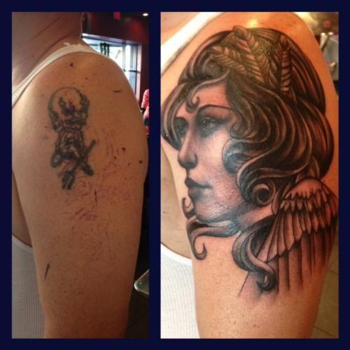Orlando tattoo artist isaac bills hart and huntington for Best tattoo artist in orlando
