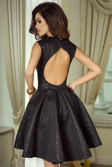 34 Xs Czarny Sukienka Mini Krotka Em 1290 4915599803 Oficjalne Archiwum Allegro Dresses Gowns Backless Dress