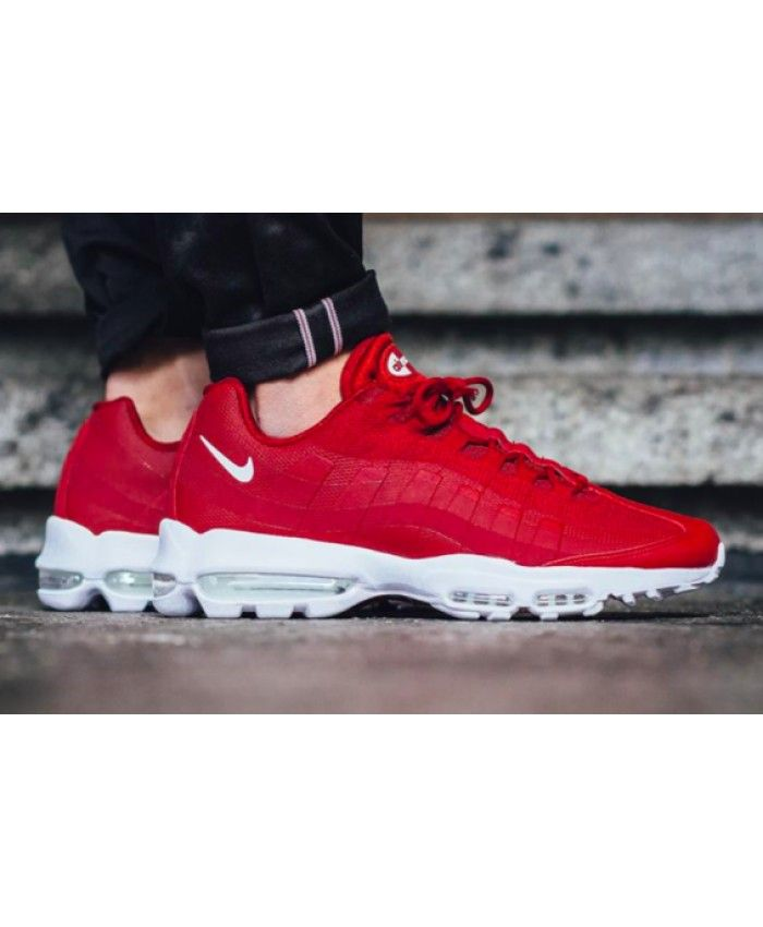 4793b3c37e36 Nike Air Max 95 Ultra Essential Gym Red Black Friday