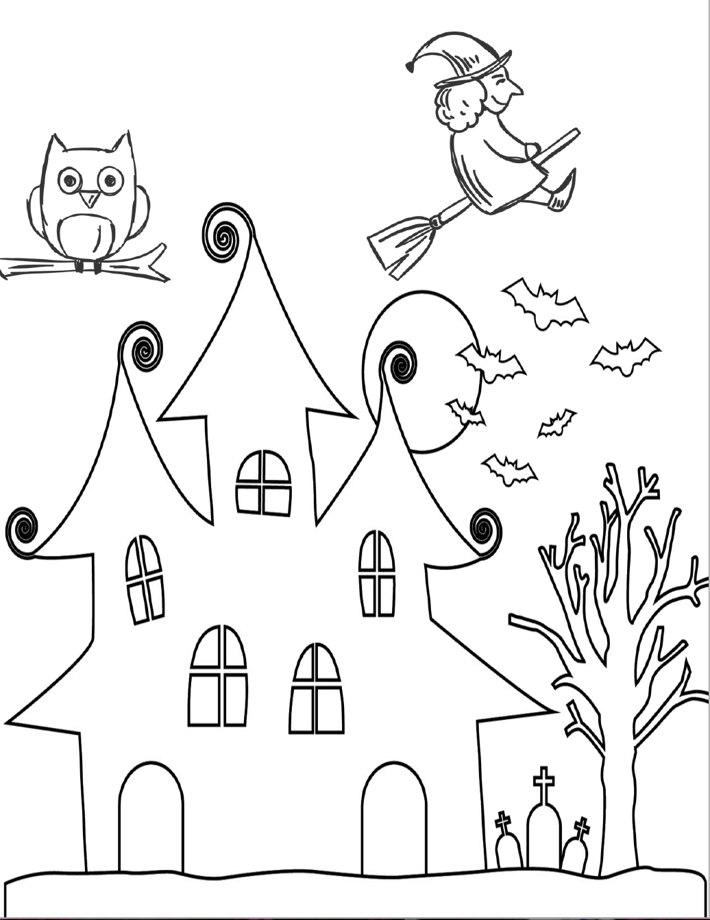 5 Free Printable Halloween Coloring Pages For Kids Halloween Printables Free Halloween Coloring Pages Printable Halloween Coloring Pages