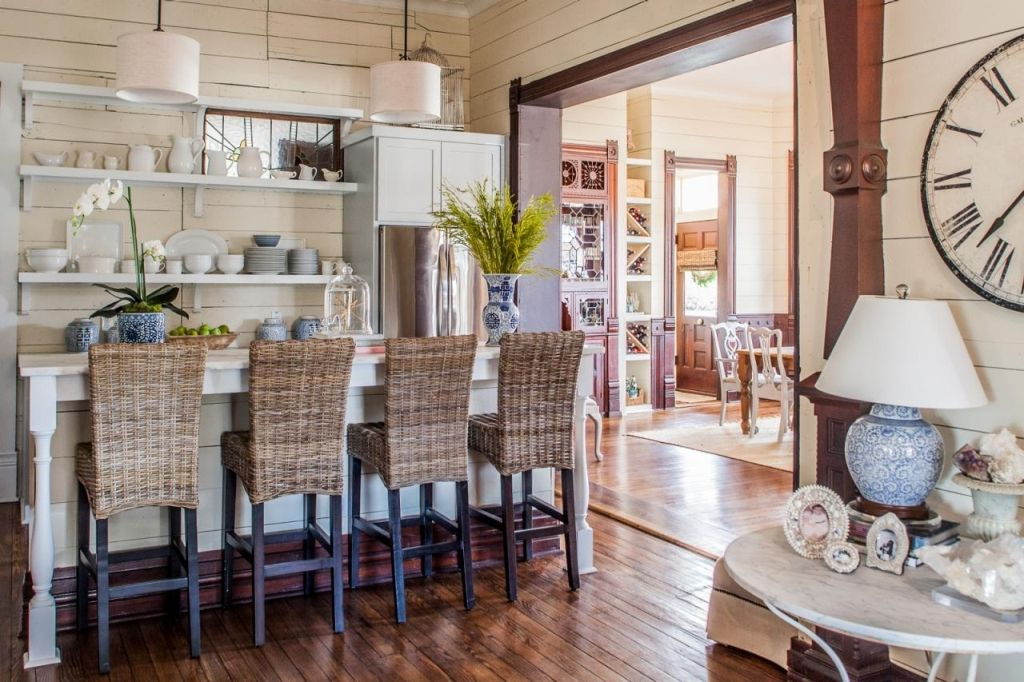 Bar Stools And High Table, Interior Affordable Seagrass Bar Stools Pottery Barn From 3 Inspirational Treatments For Seagrass Bar Stoo Country Kitchen Designs Home Small Country Kitchens
