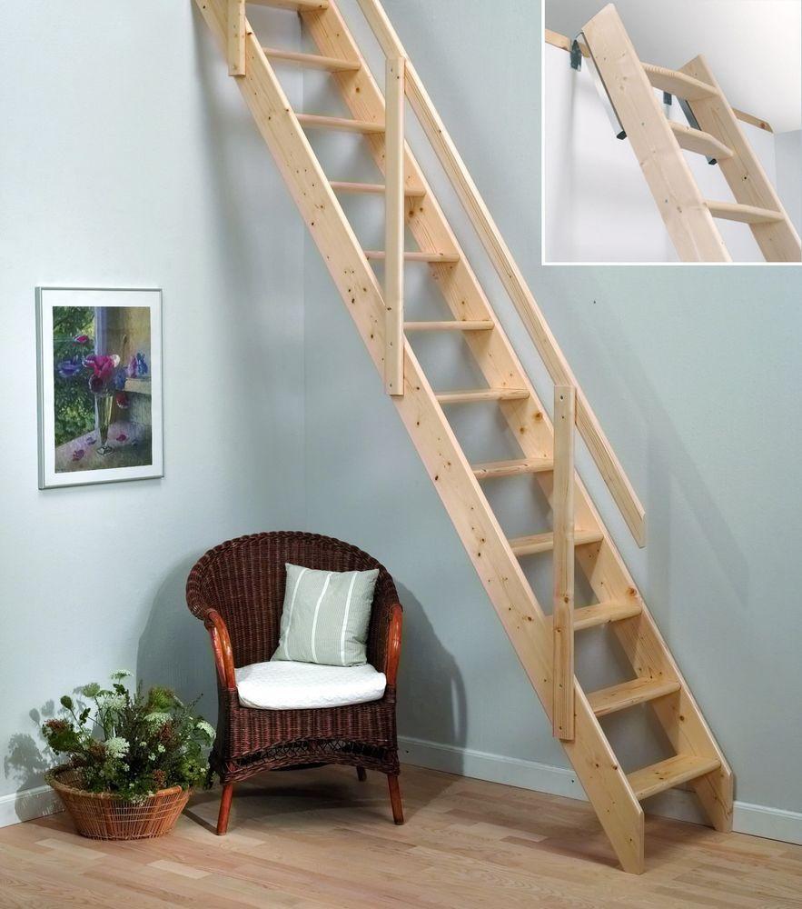 Madrid Wooden Space Saver Staircase Kit Loft Stair: Details About Madrid Wooden Space Saver Staircase Kit