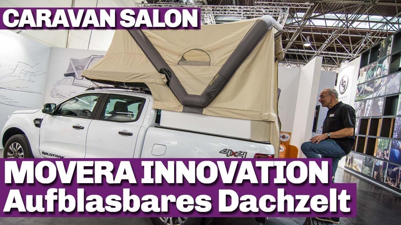 Movera Innovation Beim Caravan Salon 2017. Dachzelt Für Pick Up, Aufblasbar  Und Super Praktisch