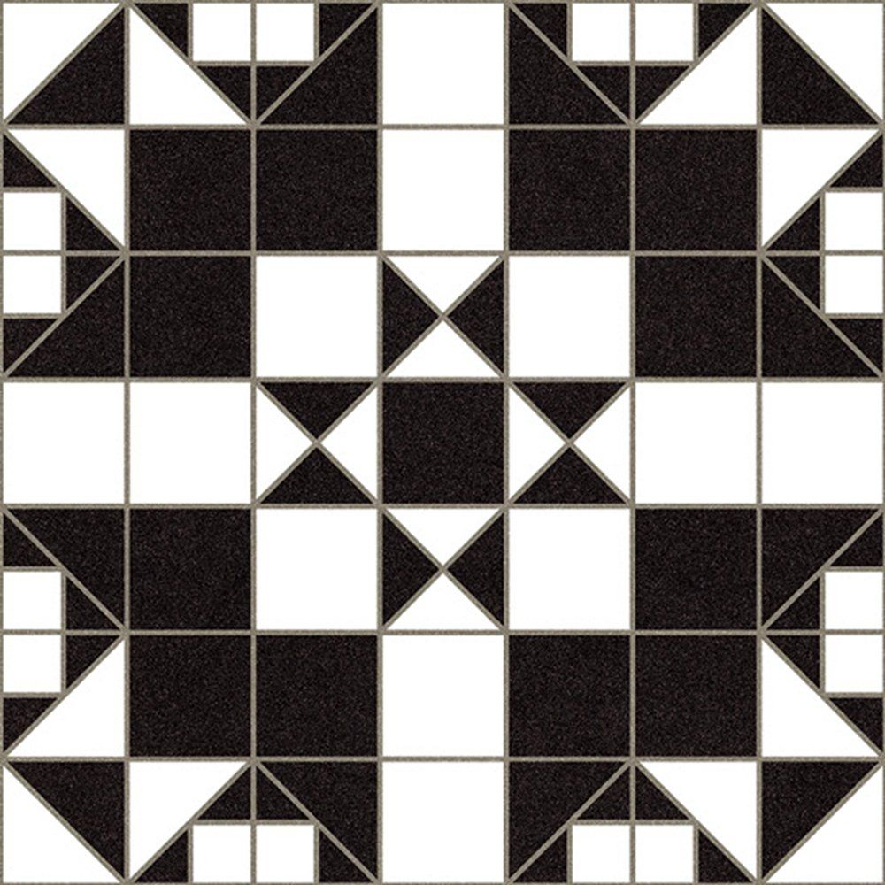 Victorian Floor Tiles Ceramic Black And White Matt Hallways Kitchens