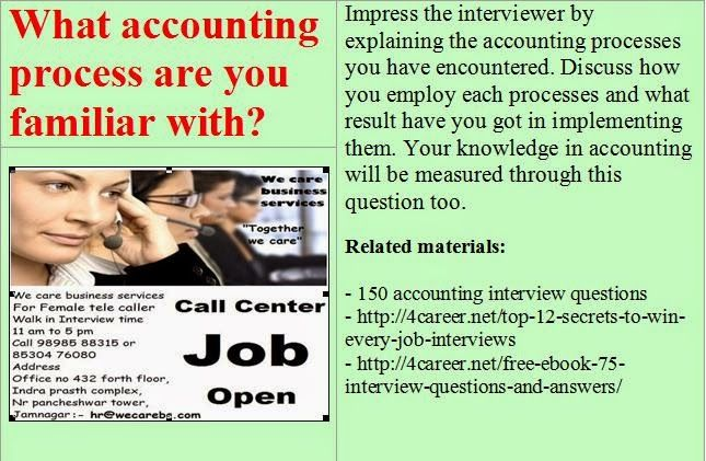 Related materials: 150 accounting interview questions ...