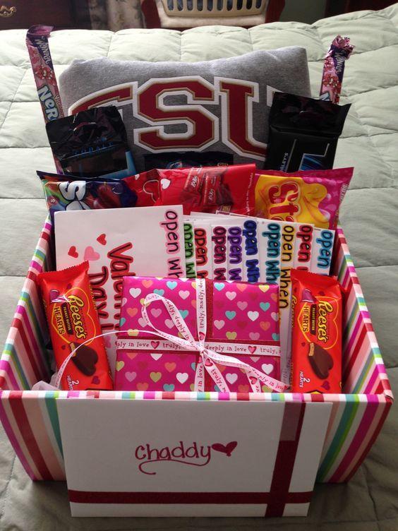 Gift Basket 23 Diy Valentines Crafts For Boyfriend