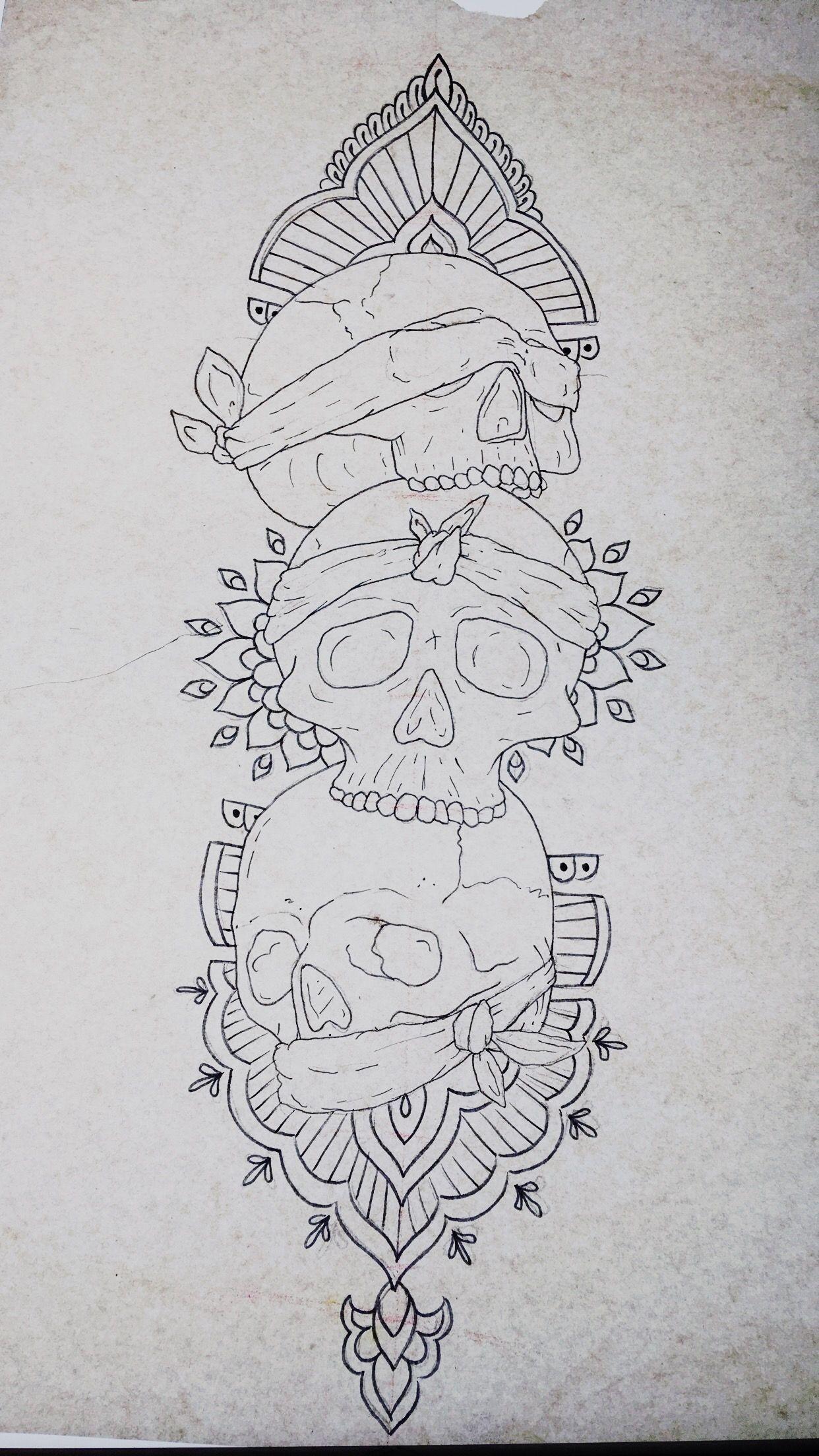 See No Evil Hear No Evil Speak No Evil Tattoo Design By Chelsea Fuller See No Evil Hear No Evil Speak No Evil Evil Skull Tattoo Evil Tattoo Monkey Tattoos