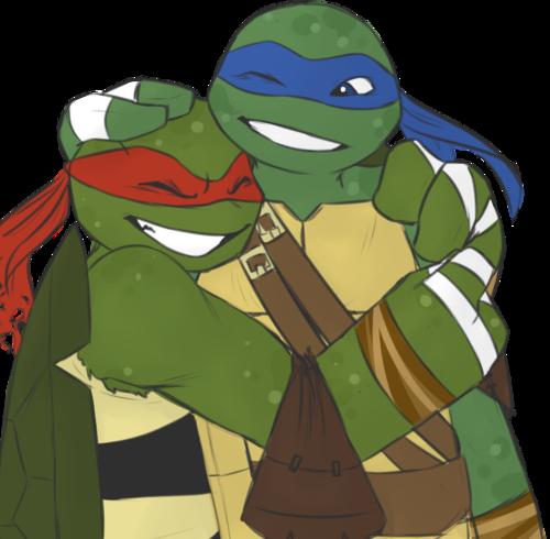 Leo And Raph Awwww Love This Ninja Turtles Art Tmnt Teenage